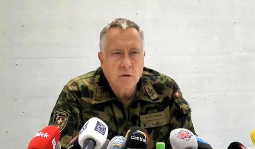 O General André Blattmann, alertou para iminentes convulsões sociais no continente europeu, impulsionadas por movimentos terroristas
