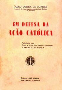 Em defesa da Ação Católica