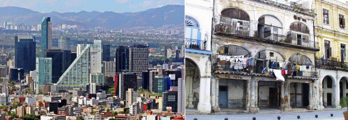 FRANCISCO, MÉXICO E CUBA: dois pesos e duas medidas