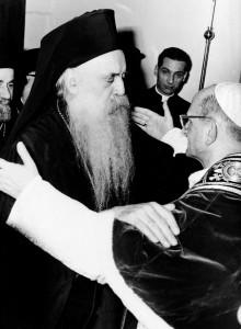 Paulo VI com Antenagoras