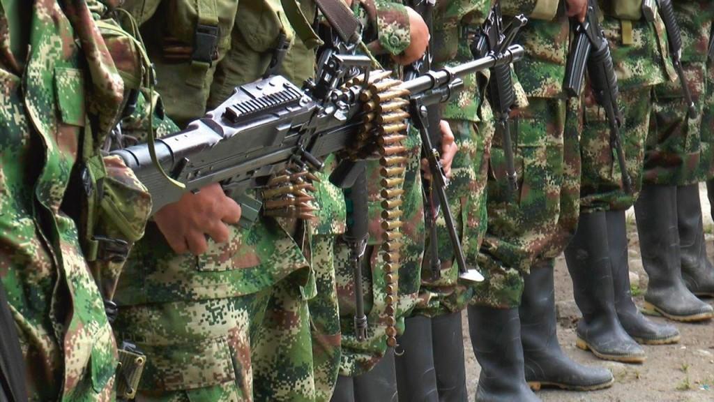 Armamento pesado da guerrilha colombiana
