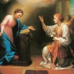 Anunciação - Anton Raphael Mengs, séc. XVIII. Museu Hermitage, São Petersburgo (Rússia)