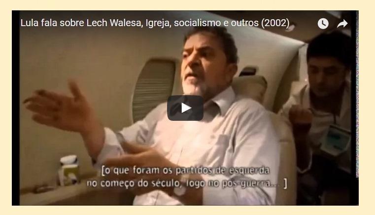 Lula e Walesa