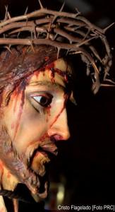 Flagelação de Cristo - Antônio alemão, séc. XVI. Museu de Belas Artes, Córsega (França)