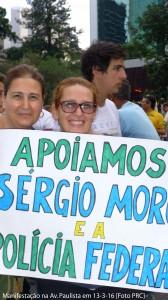 Manifestacao anti-PT na Av. Paulista