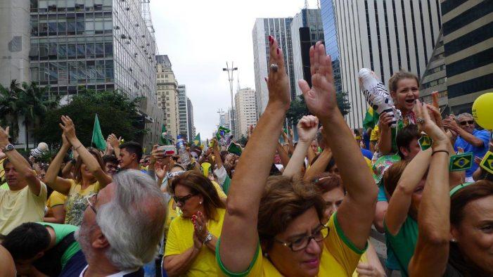 Basta de demagogia, corrupção, impunidade e bolivarianismo