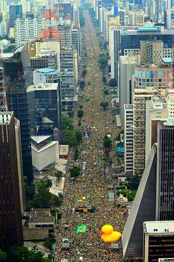Manifestação do dia 13 de março