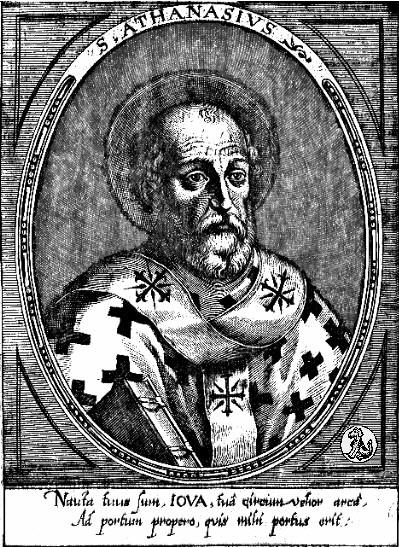 """SANTO ATANASIO: """"Levais o nome de Cristo, mas seria mais justo se levásseis o nome de Pilatos"""""""