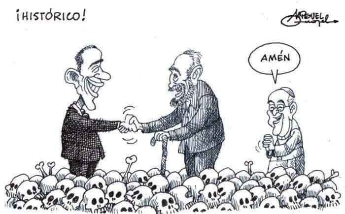 """OBAMA: """"operação de resgate"""" do povo cubano ou dos seus tiranos?"""