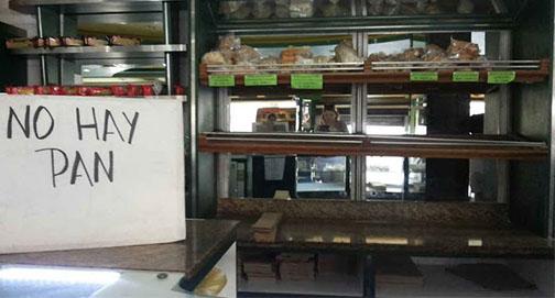 Até o pão falta na outrora opulenta Caracas, capital venezuelana