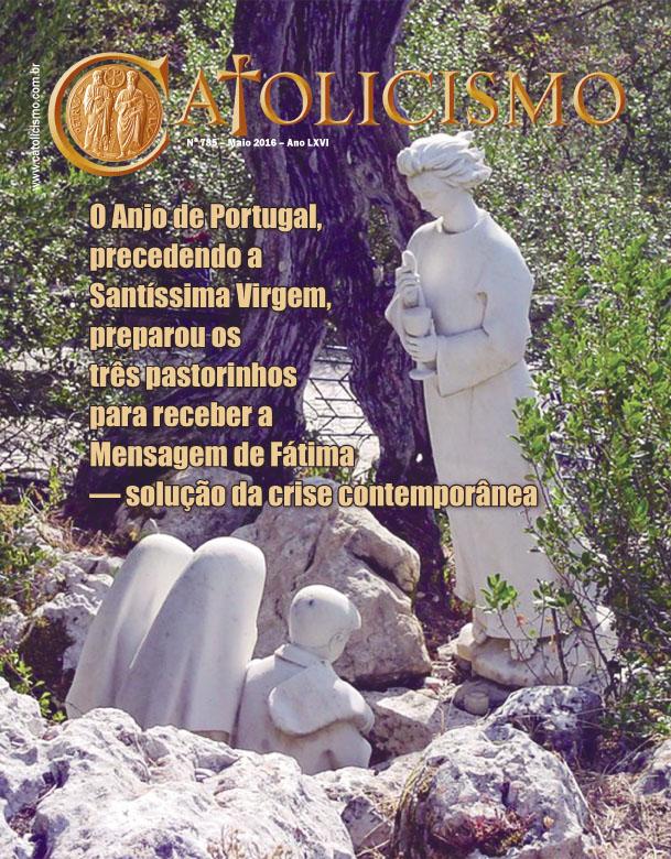 Capa da revista Catolicismo, edição de maio/2016