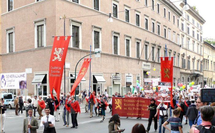 Em Roma, importante manifestação contra o aborto