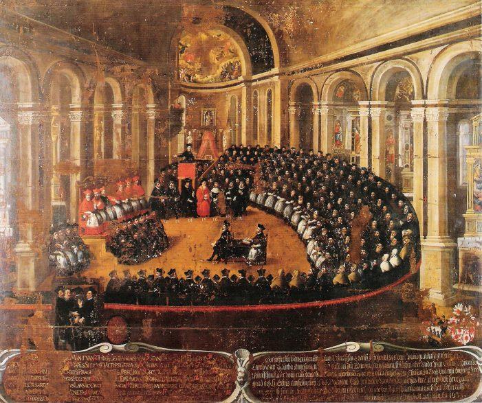 Haec Sancta (1415), um documento conciliar que foi condenado pela Igreja