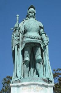Batalha de Belgrado. São João de Capistrano incentivando os combatentes católicos durante a batalha em defensa da Civilização Cristã contra a invasão maometana