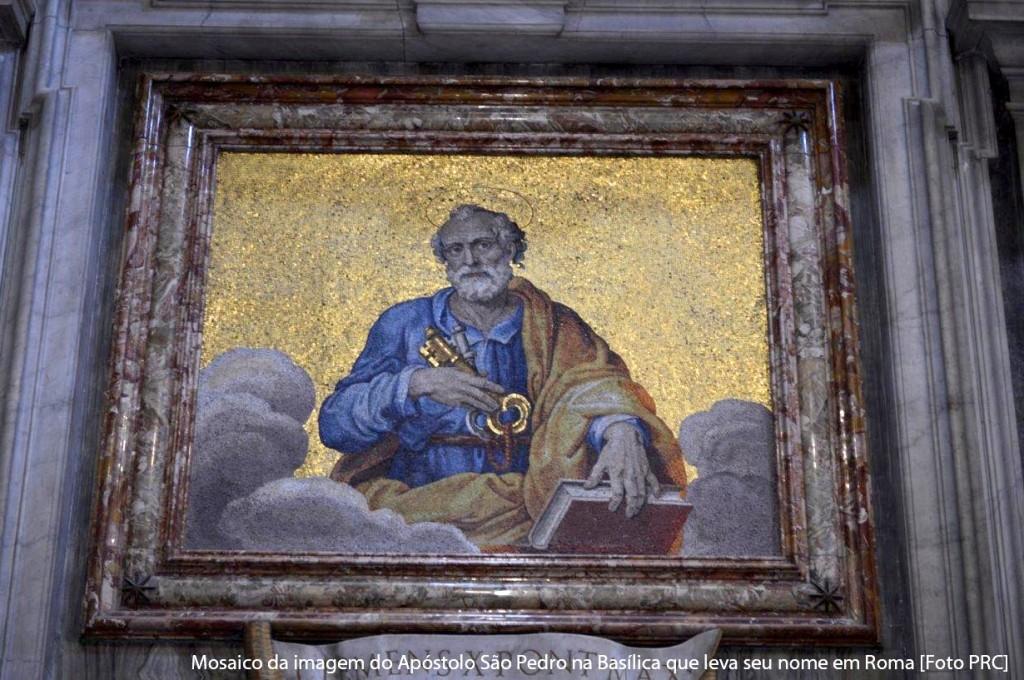 """São Pedro ensina que é preciso """"obedecer a Deus antes que aos homens"""" (At. 5, 29)"""