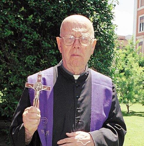Pe. Gabriele Amorth, famoso exorcista
