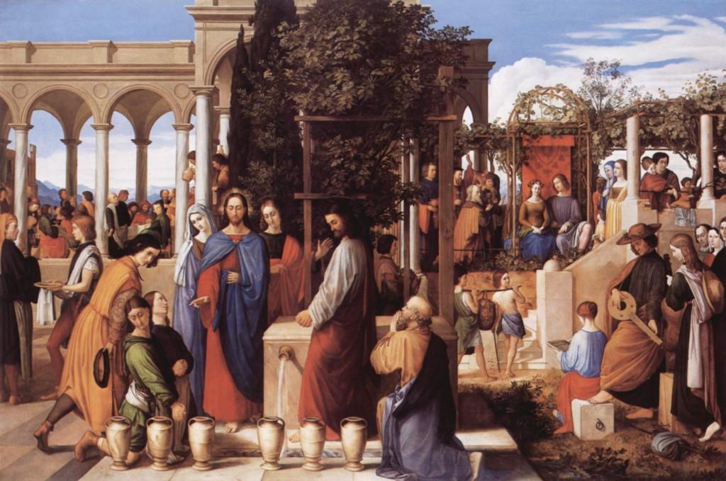 Bodas de Canã, obra de Julius Schnorr von Carolsfeld