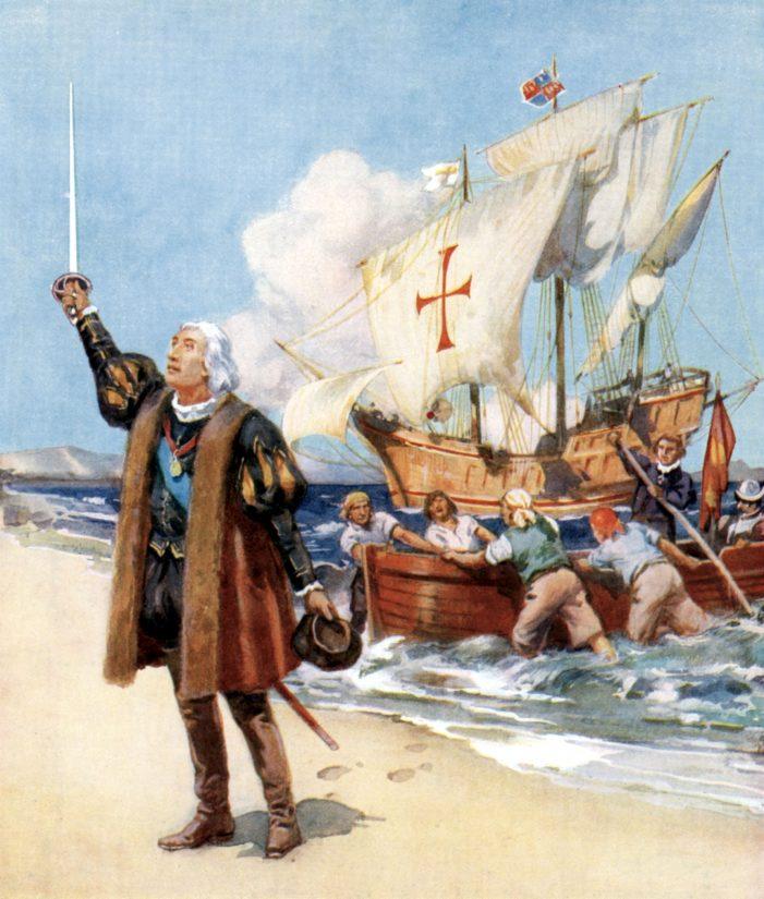Princípio da civilização cristã nas Américas