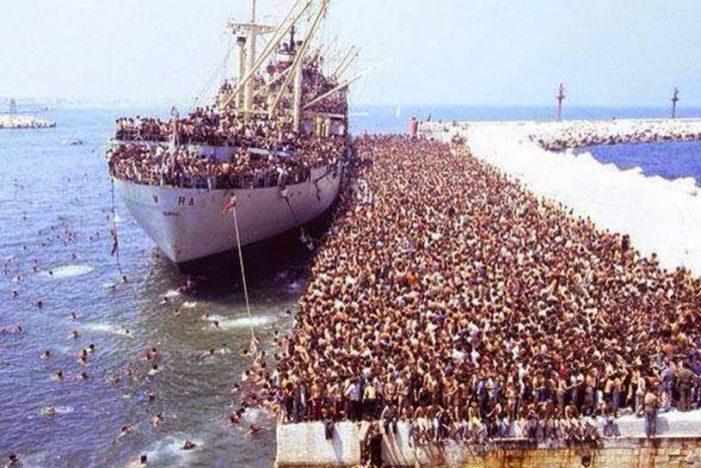 Da invasão migratória à guerra civil