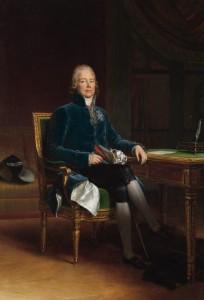 Retrato de Charles-Maurice de Talleyrand-Périgord - François Gérard (1770-1837), Museu de Versailhes, França.