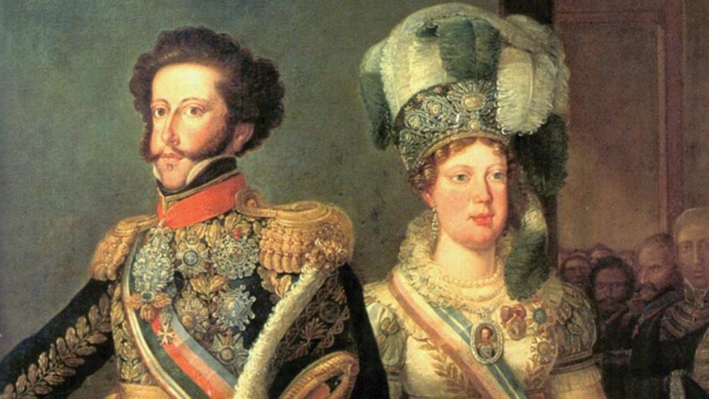 Dom Pedro I e a Princesa D. Leopoldina de Habsburgo