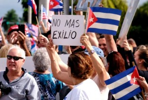 O autêntico povo cubano comemorou
