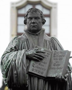 Foto do original da tradução da bíblia, segundo Lutero