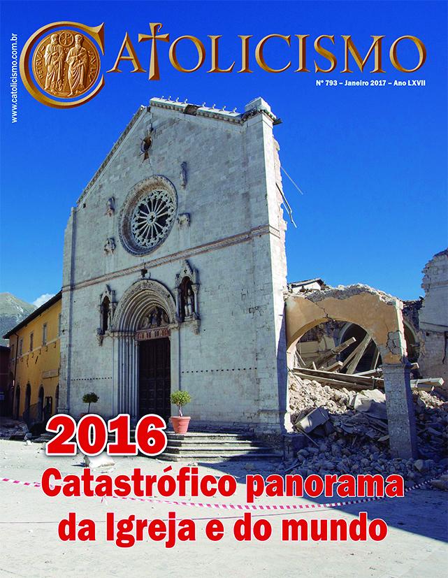 Capa da Revista Catolicismo, Nº 793, Janeiro/2017