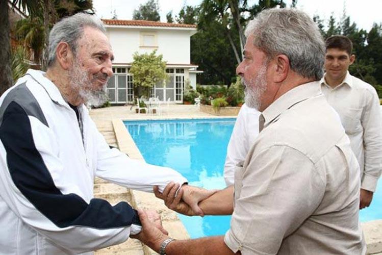 Fidel Castro e Lula