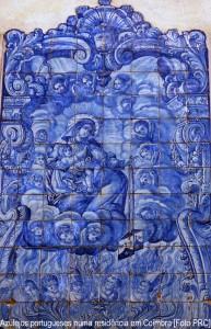 Representação da intercessão de Nossa Senhora a favor das almas do Purgatório