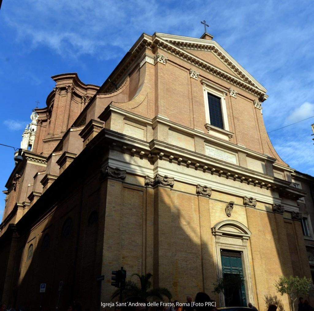 Imagem de Nossa Senhora do Milagre que se venera na Igreja de Sant'Andrea delle Fratte (Roma). Diante dela ocorreu, no dia 20 de janeiro de 1842, a miraculosa conversão ao catolicismo do judeu Afonso Ratisbonne.