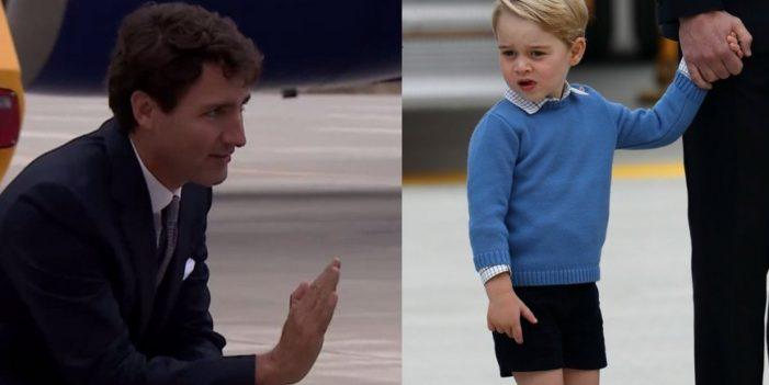 CANADÁ — Visita oficial de um príncipe britânico de três anos…