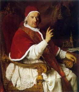 Bento XIV, Sumo Pontífice de 1740 até sua morte em 1758
