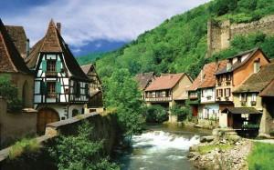 Kayserberg, vila francesa da Alsácia