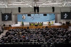 55ª Assembleia Geral da CNBB, reunida em Aparecida, de 26 de abril a 5 de mail [Foto CNBB]