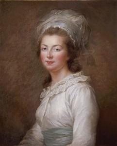 Madame Elisabeth (pintura de Mme Vigée-Le Brun -1790)