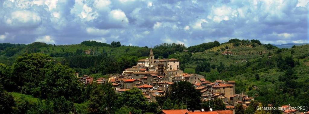 A pequenina e encantadora cidade de Genazzano