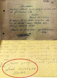 Documentos incluem nota manuscrita revelando a disposição de Walesa em colaborar secretamente com a polícia secreta