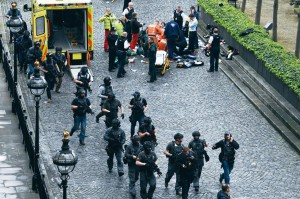 Londres foi surpreendida por um violento atentado jihadista nas portas do Parlamento