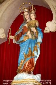 Imagem de Na. Sra. Auxiliadora que se venera na Igreja do mesmo em São Paulo [Foto PRC]