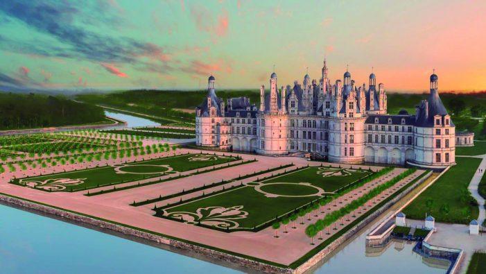 Chambord recupera seus aristocráticos jardins