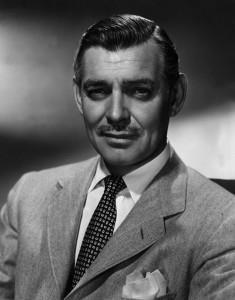 William Clark Gable (1901–1960), ator norte-americano, considerado uma das maiores estrelas do cinema em meados do século XX.