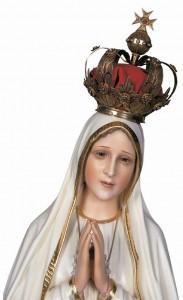 """""""O misterioso pranto nos mostra a Virgem de Fátima a chorar sobre o mundo contemporâneo, como outrora Nosso Senhor chorou sobre Jerusalém. Lágrimas de dor profunda, na previsão do castigo que virá."""""""