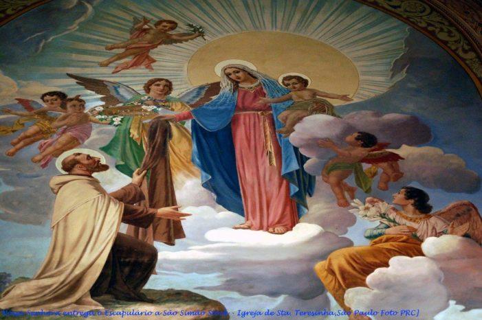 16 de julho — Nossa Senhora do Carmo