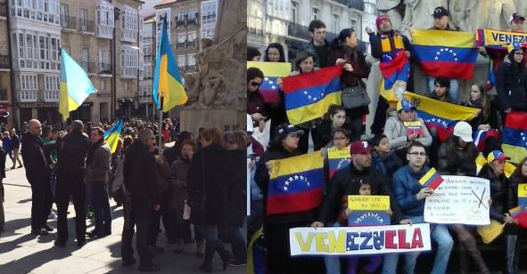 Exemplo ucraniano inspira resistência venezuelana