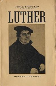 """Gravura representando o """"casamento"""" do ex-frade Lutero com a ex-freira Catarina von Bora"""