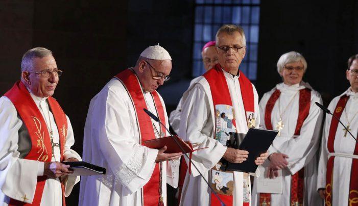 """O """"giro luterano"""" do Papa Francisco"""