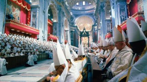 """""""É penoso dizê-lo. Mas a evidência dos fatos aponta, neste sentido, o Concílio Vaticano II como uma das maiores calamidades, se não a maior, da História da Igreja"""" (Plinio Corrêa de Oliveira)."""