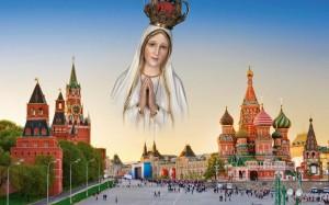 Dar-se-á então o triunfo do Imaculado Coração de Maria, com uma Rússia finalmente convertida à fé católica e o estandarte da Imaculada tremulando no topo do Kremlin, segundo previu São Maximiliano Kolbe.