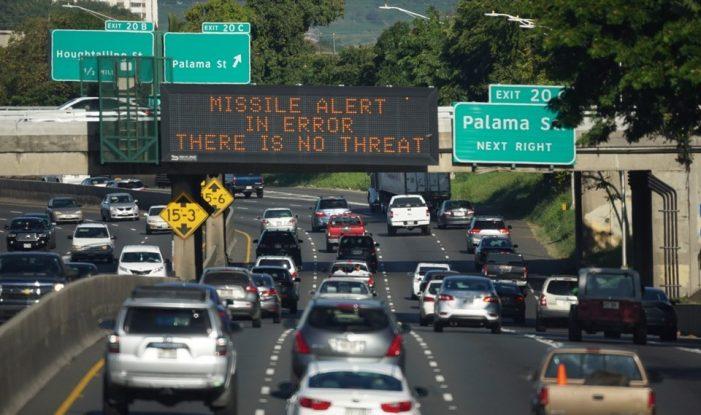 """Míssil no Havaí"": Mal que veio para bem"